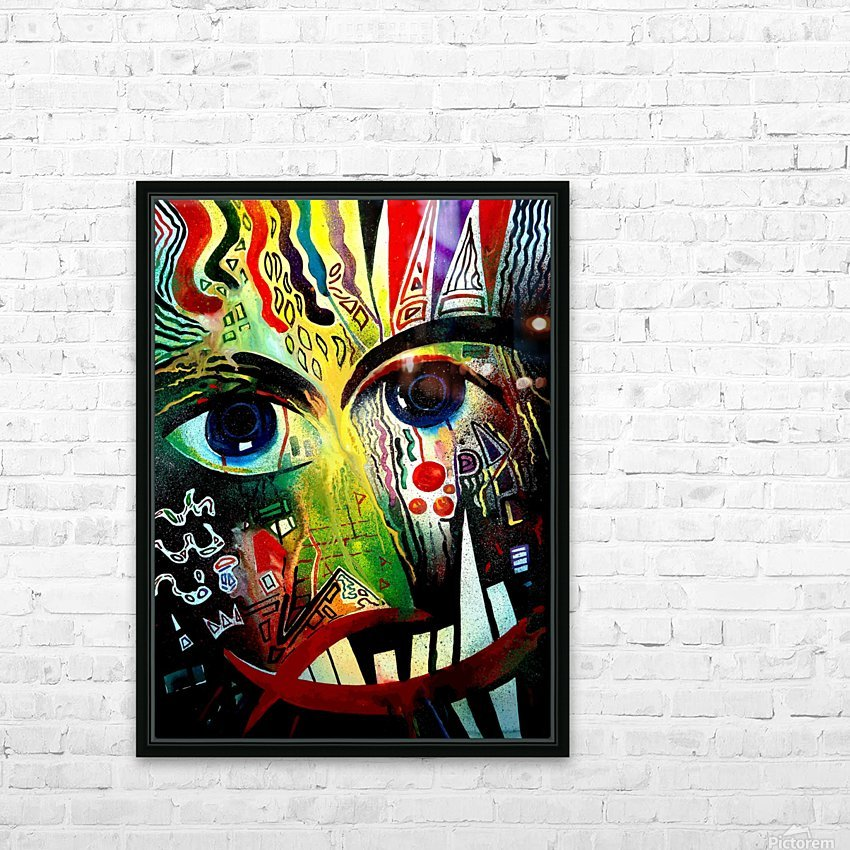 Expressionism 2 HD Sublimation Metal print with Decorating Float Frame (BOX)