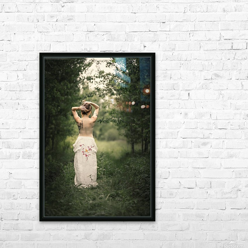 Aubade HD Sublimation Metal print with Decorating Float Frame (BOX)