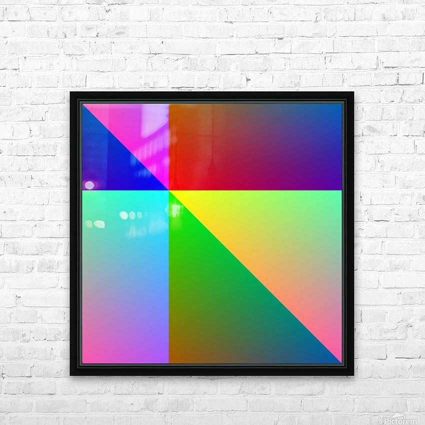 Spectrum HD Sublimation Metal print with Decorating Float Frame (BOX)