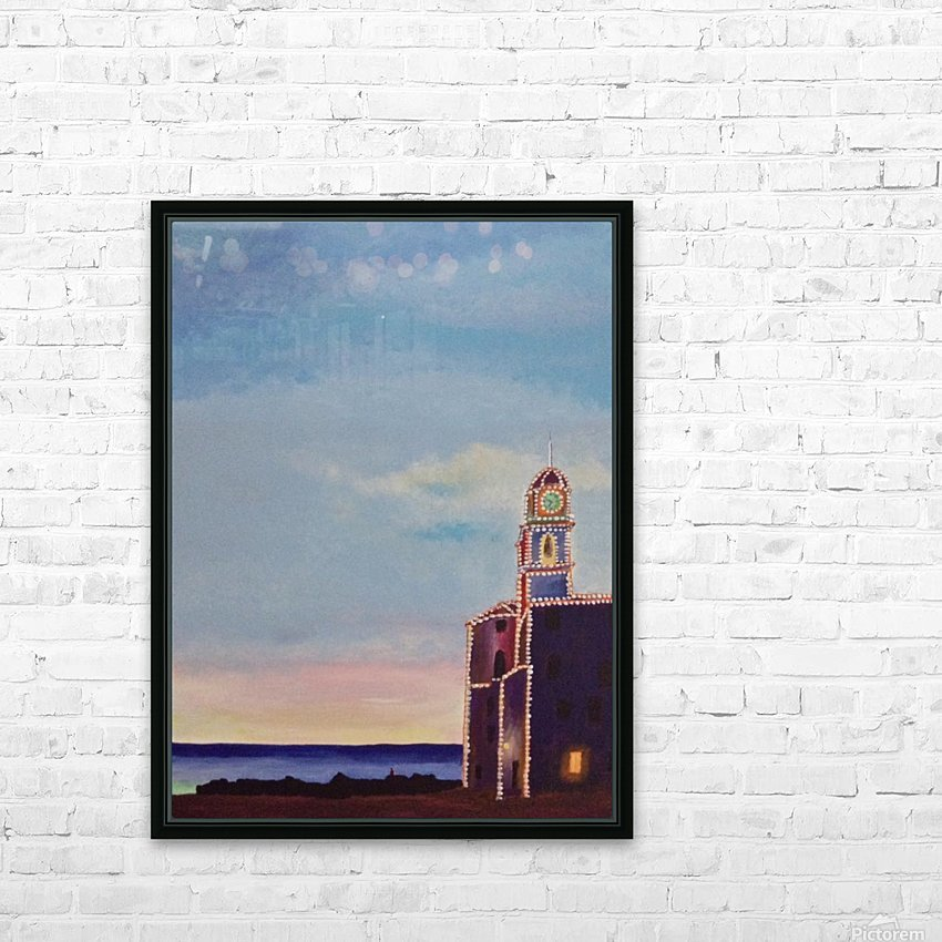 Camogli HD Sublimation Metal print with Decorating Float Frame (BOX)