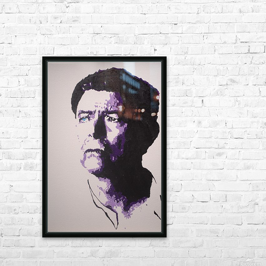 2014 Sad Bowie HD Sublimation Metal print with Decorating Float Frame (BOX)