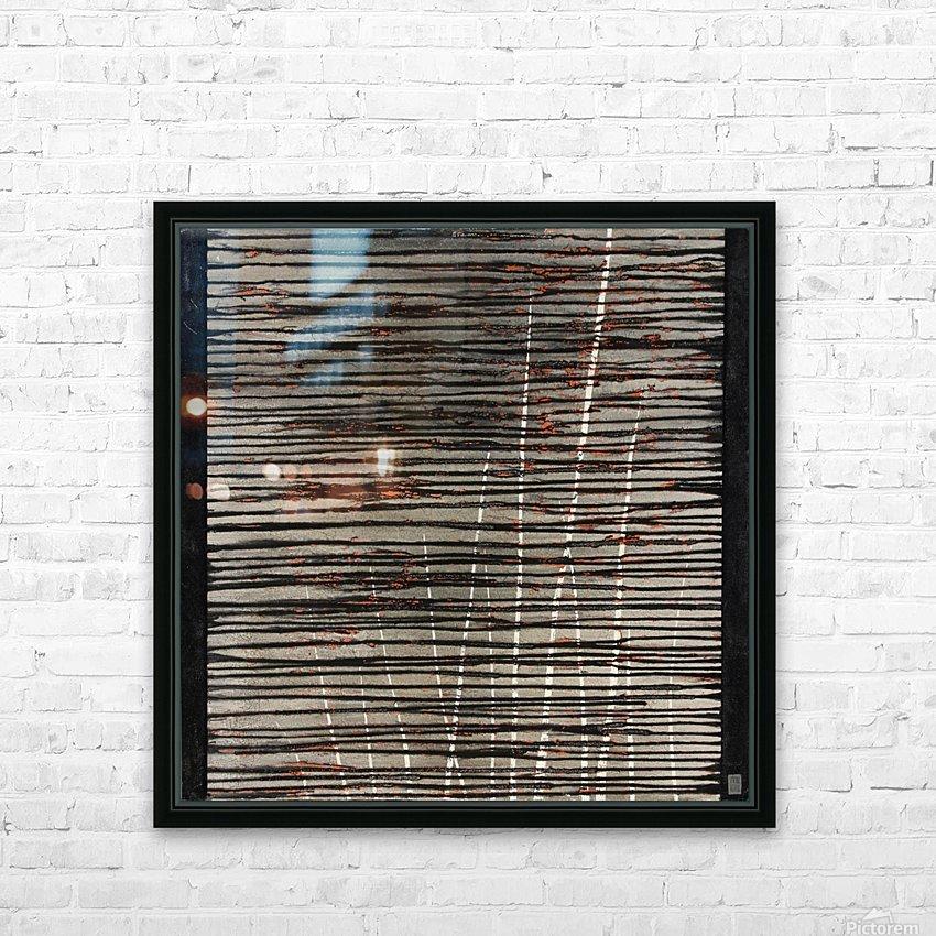 Létang dépassé - Contemporary Art HD sublimation métal imprimé avec décoration flotteur cadre (boîte)