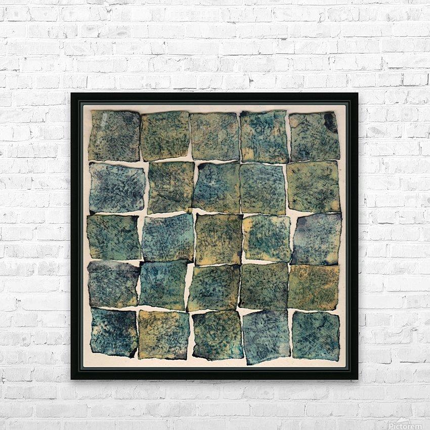 Square massy 5 - Abstract Photo HD sublimation métal imprimé avec décoration flotteur cadre (boîte)