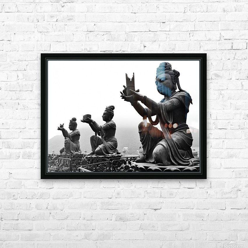 Offer for Buddha HD Sublimation Metal print with Decorating Float Frame (BOX)