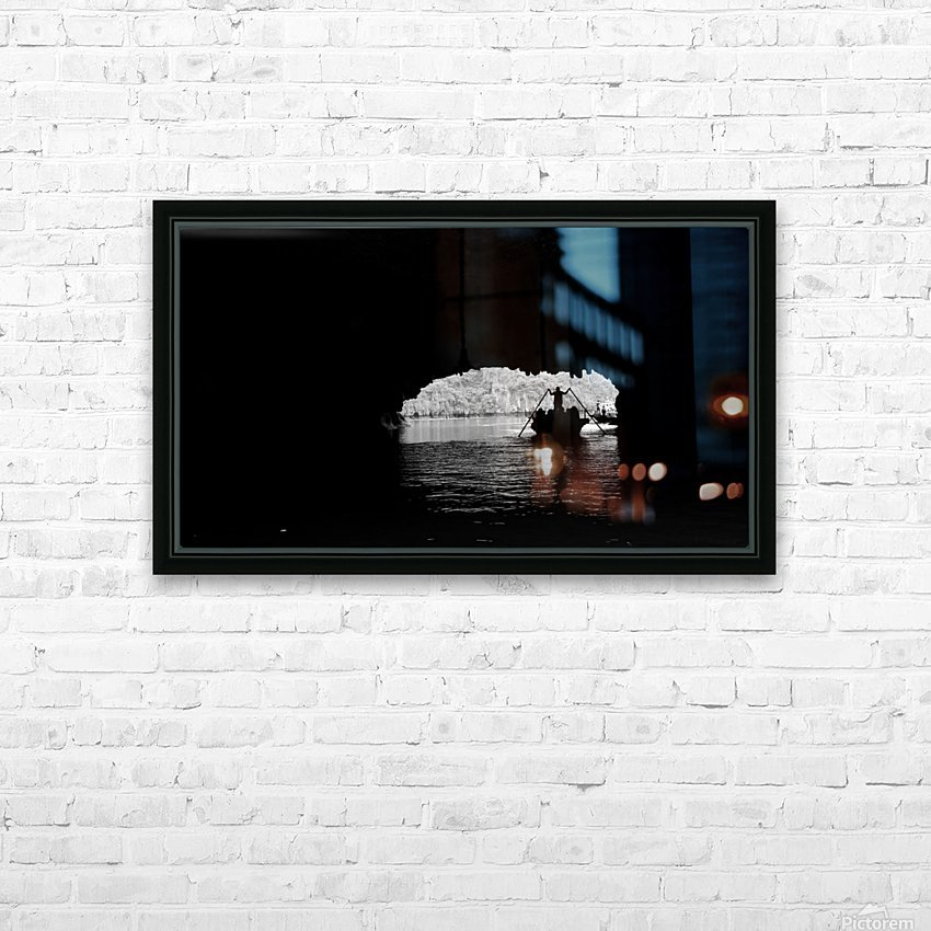 Ha Long Bay HD Sublimation Metal print with Decorating Float Frame (BOX)