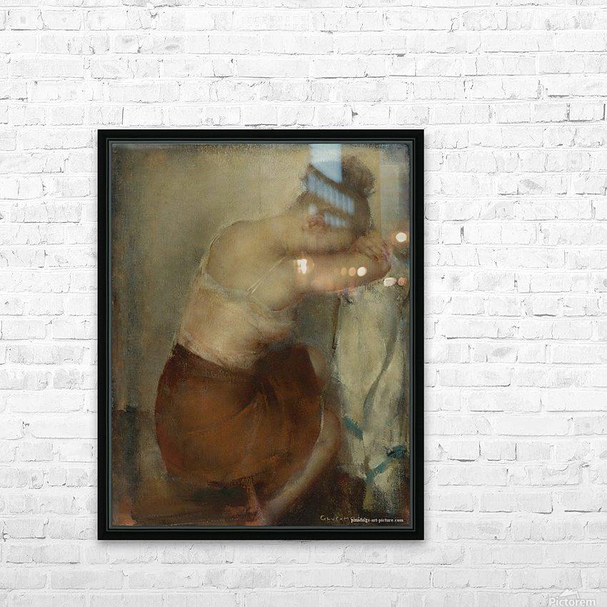 Natasha HD Sublimation Metal print with Decorating Float Frame (BOX)