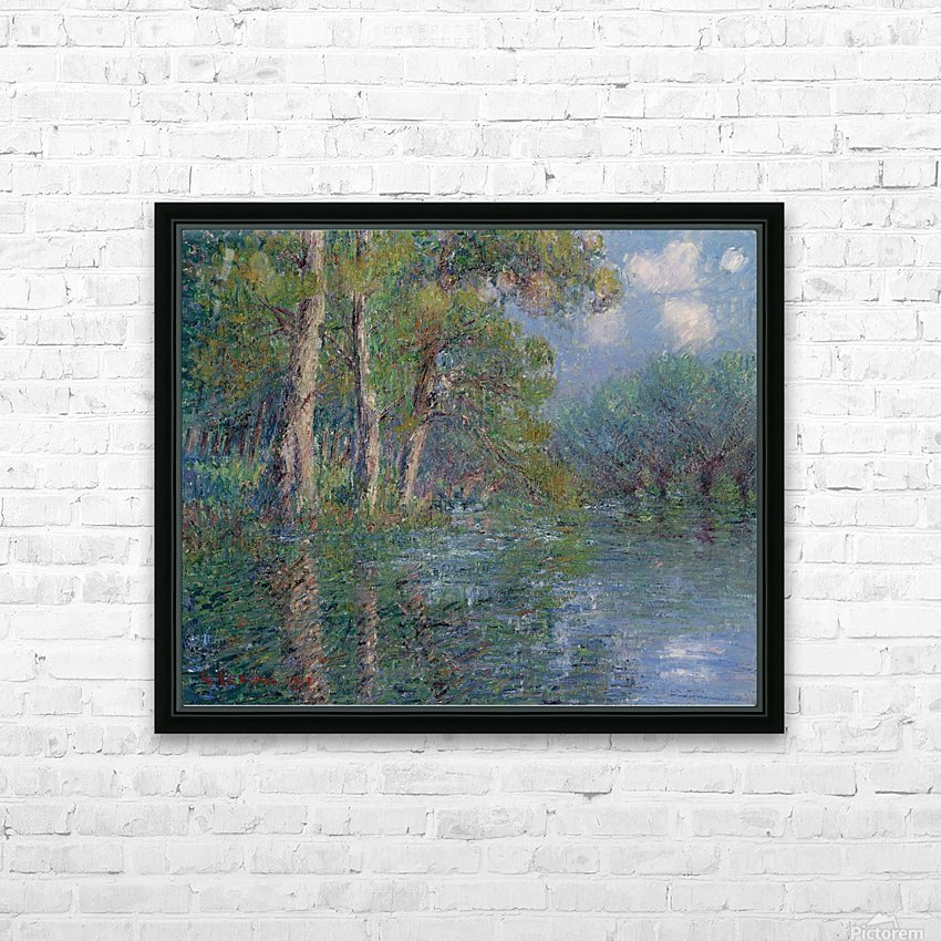 The Bend of the Eure HD Sublimation Metal print with Decorating Float Frame (BOX)