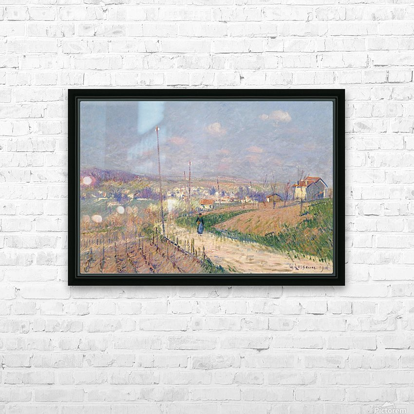 The Spring at Ile-de-France HD Sublimation Metal print with Decorating Float Frame (BOX)