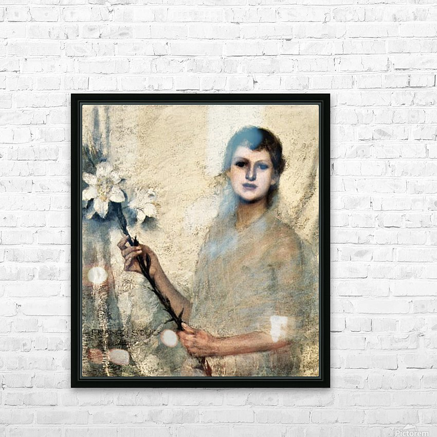 Innocence by Franz von Stuck HD Sublimation Metal print with Decorating Float Frame (BOX)