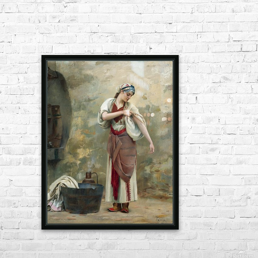 The Laundress HD Sublimation Metal print with Decorating Float Frame (BOX)
