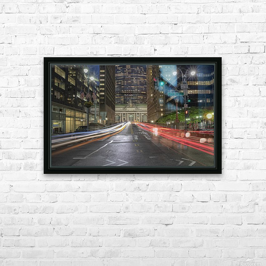 Zoom HD Sublimation Metal print with Decorating Float Frame (BOX)