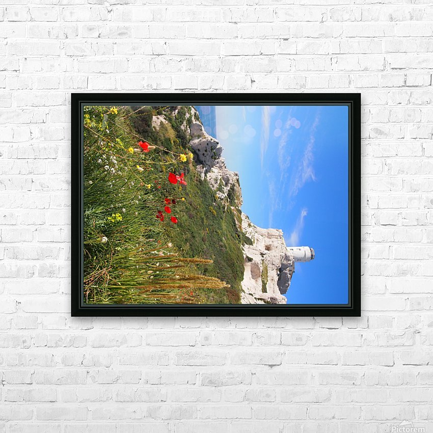 Abandoned HD Sublimation Metal print with Decorating Float Frame (BOX)