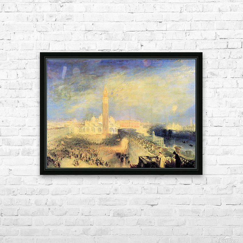 Juliet and her nurse by Joseph Mallord Turner HD Sublimation Metal print with Decorating Float Frame (BOX)