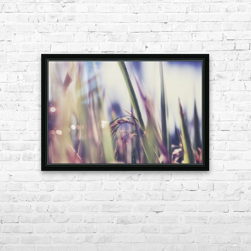 Time to Harvest HD Sublimation Metal print with Decorating Float Frame (BOX)