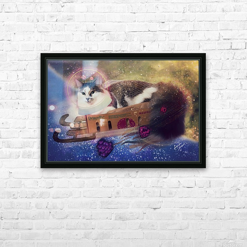 Bune HD Sublimation Metal print with Decorating Float Frame (BOX)