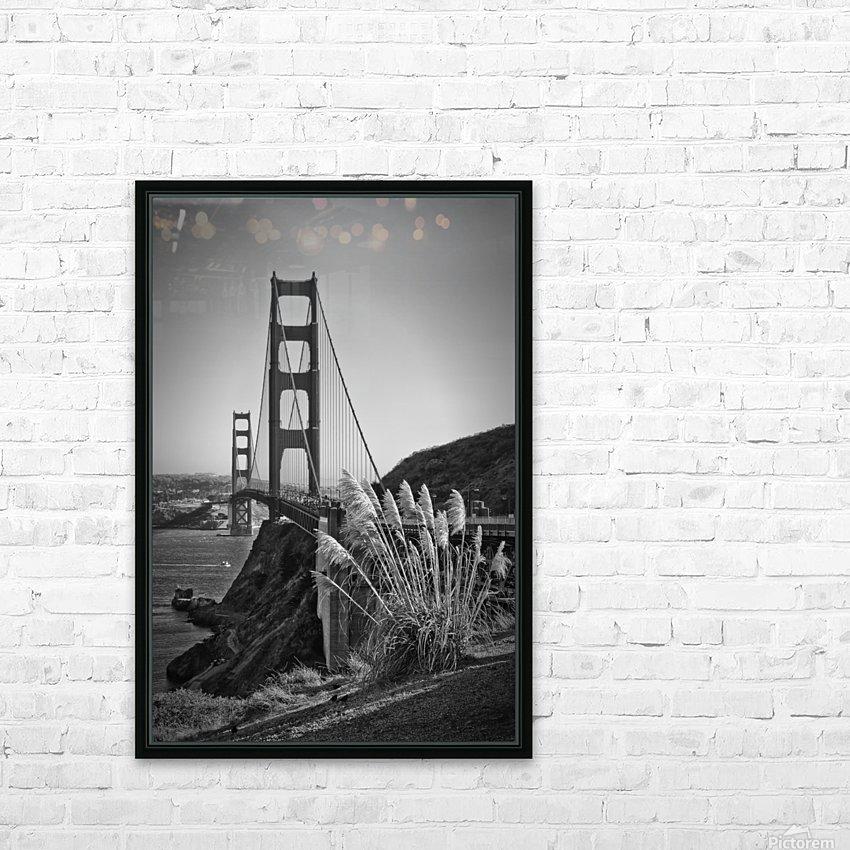 SAN FRANCISCO Golden Gate Bridge HD Sublimation Metal print with Decorating Float Frame (BOX)