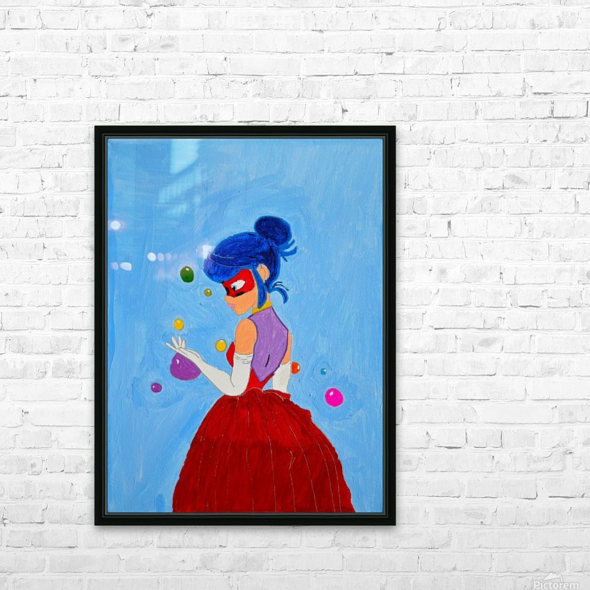 Elegant Ladybug. DaVere h. HD Sublimation Metal print with Decorating Float Frame (BOX)
