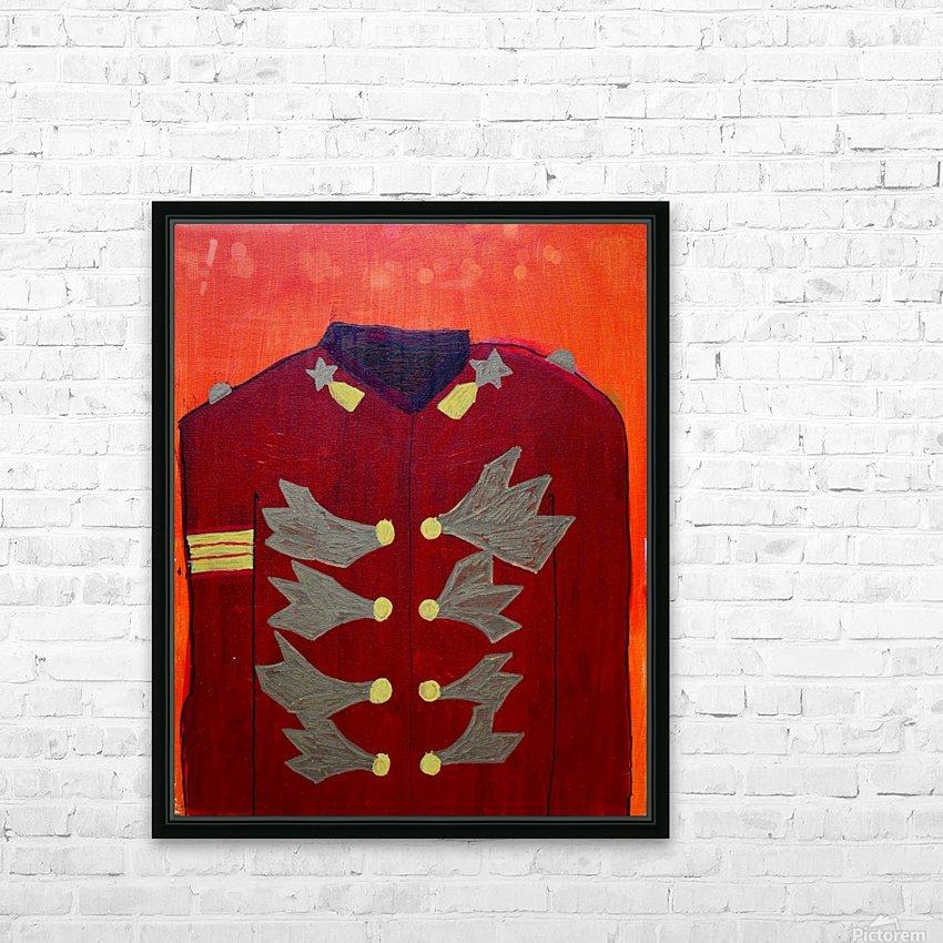Golden MJ. Steven F. HD Sublimation Metal print with Decorating Float Frame (BOX)