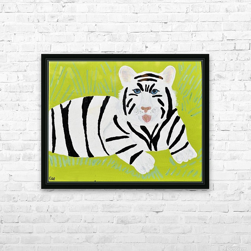 Jungle Warrior.Erin R. HD Sublimation Metal print with Decorating Float Frame (BOX)