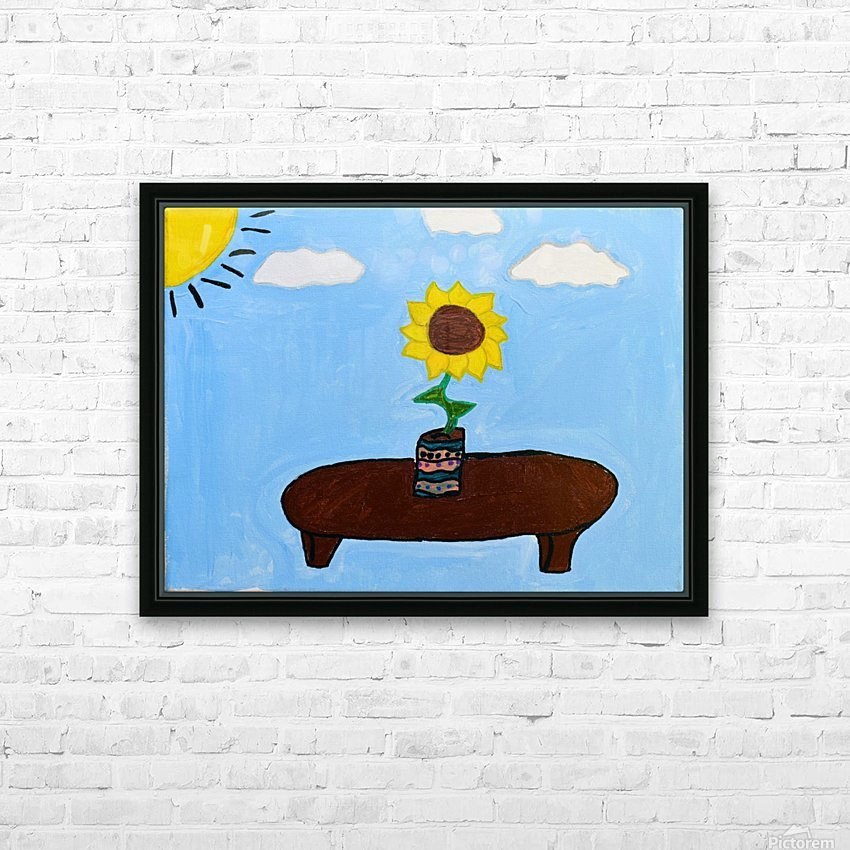 Under The Sun. DaVere H. HD Sublimation Metal print with Decorating Float Frame (BOX)