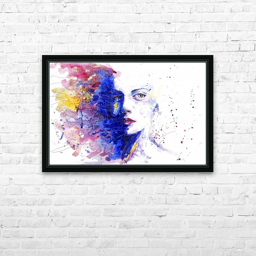 CAREFREE HD Sublimation Metal print with Decorating Float Frame (BOX)