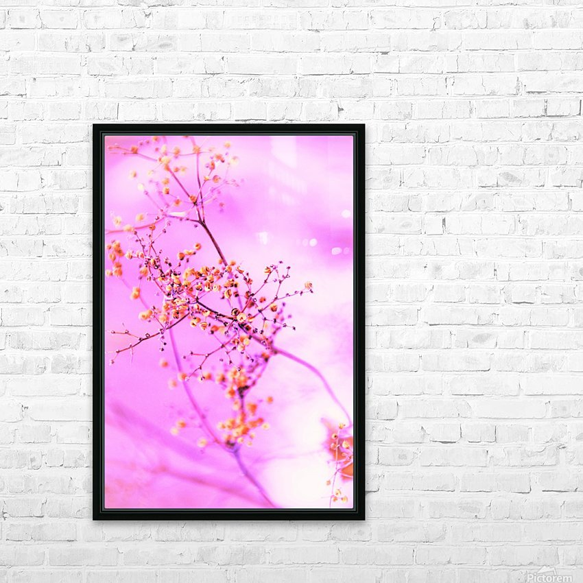 paint it pink  HD Sublimation Metal print with Decorating Float Frame (BOX)