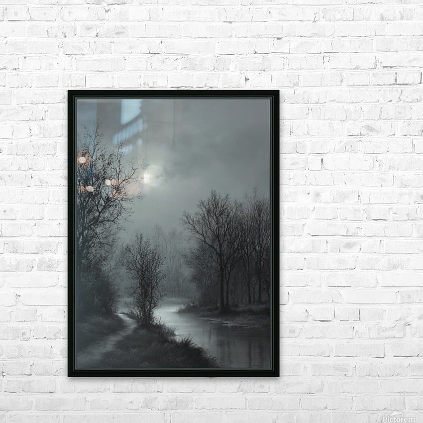 Hint of Sunlight HD Sublimation Metal print with Decorating Float Frame (BOX)