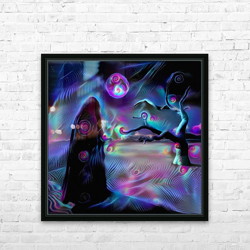 The Desert of Dreams HD Sublimation Metal print with Decorating Float Frame (BOX)