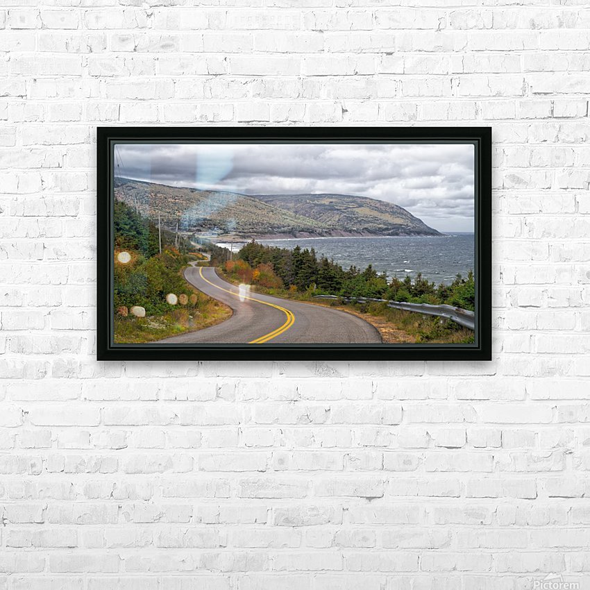 Long and Winding Road HD Sublimation Metal print with Decorating Float Frame (BOX)