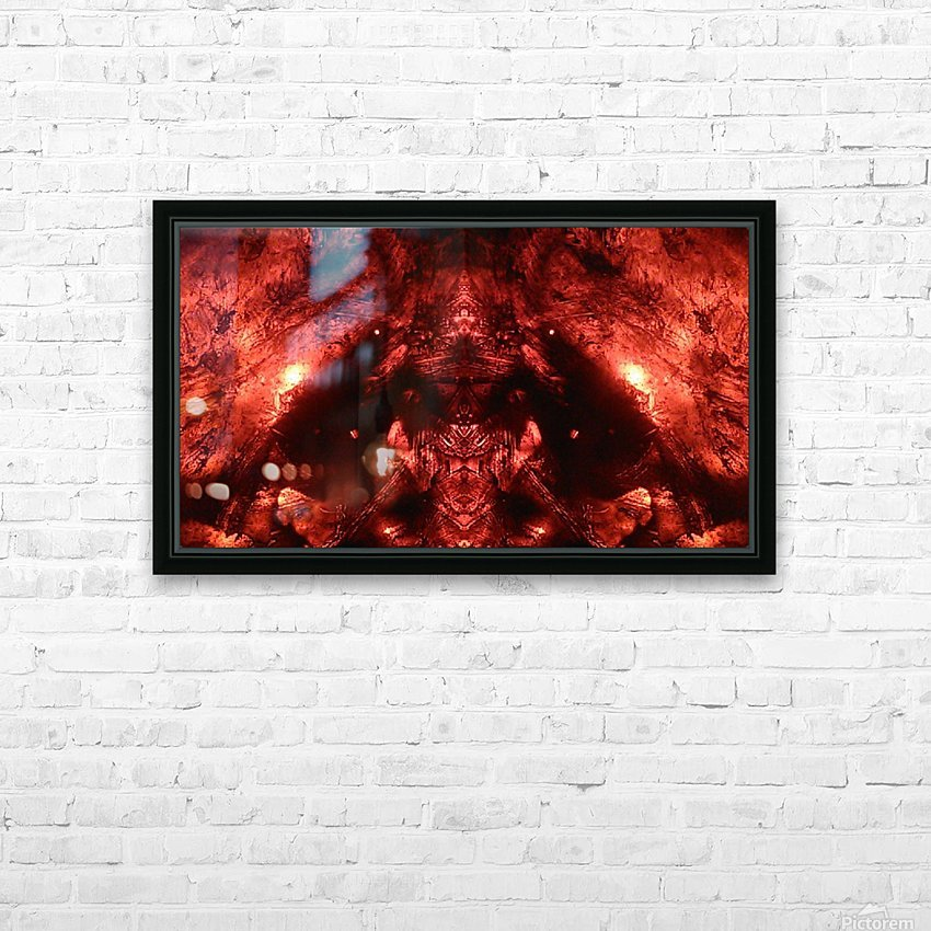 1539637019605 HD Sublimation Metal print with Decorating Float Frame (BOX)