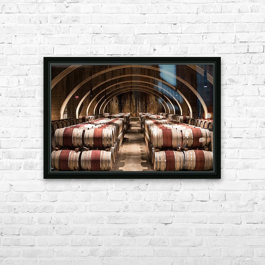 Mission Hill HD Sublimation Metal print with Decorating Float Frame (BOX)