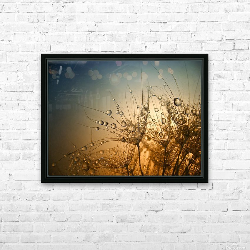 Tender is the Night HD Sublimation Metal print with Decorating Float Frame (BOX)