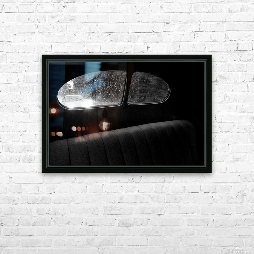 Coming from behind. HD Sublimation Metal print with Decorating Float Frame (BOX)