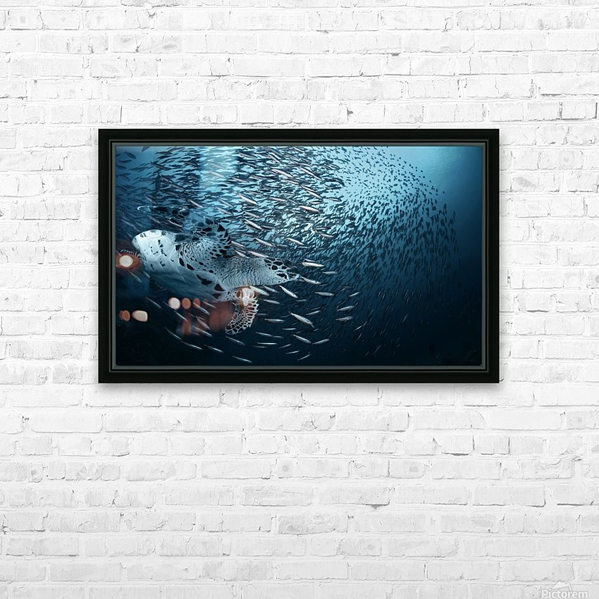 Bend HD Sublimation Metal print with Decorating Float Frame (BOX)