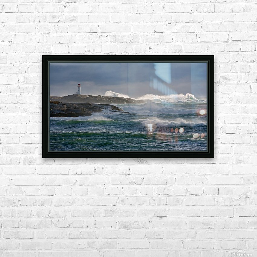 In the Protection of a Lighthouse HD Sublimation Metal print with Decorating Float Frame (BOX)