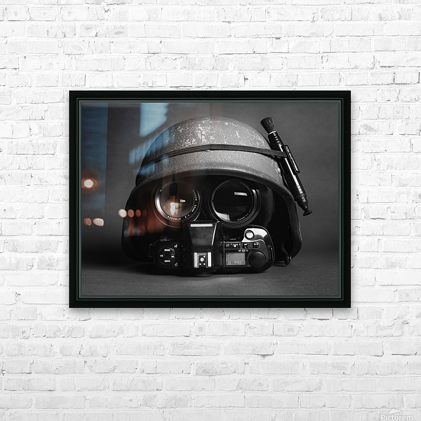 Stay Frosty HD Sublimation Metal print with Decorating Float Frame (BOX)