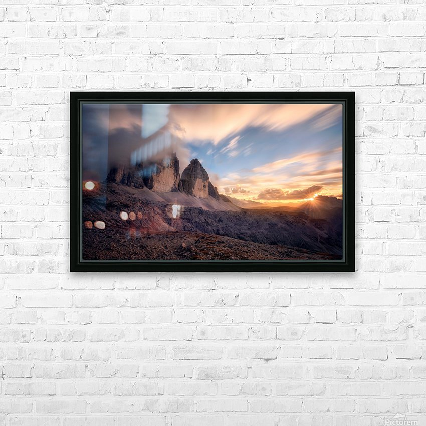 The Final Moment HD Sublimation Metal print with Decorating Float Frame (BOX)