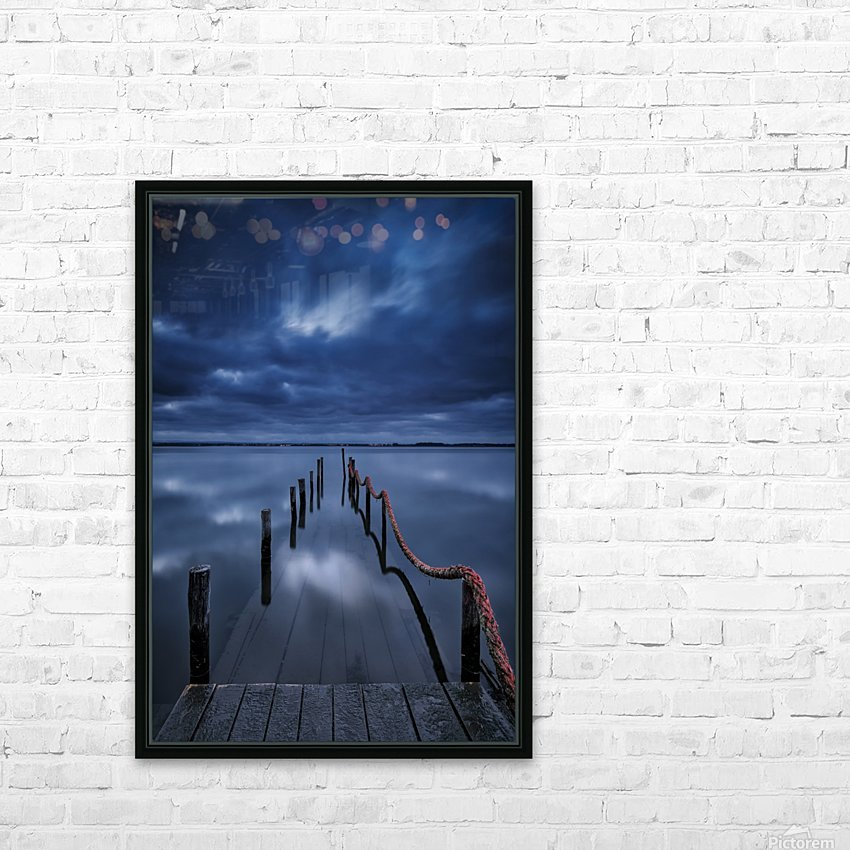 Cais HD Sublimation Metal print with Decorating Float Frame (BOX)