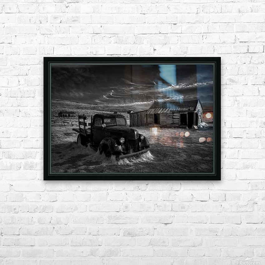 No More Gold... HD Sublimation Metal print with Decorating Float Frame (BOX)