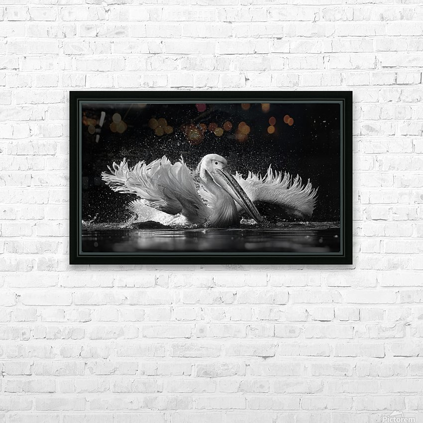 Refreshing HD Sublimation Metal print with Decorating Float Frame (BOX)