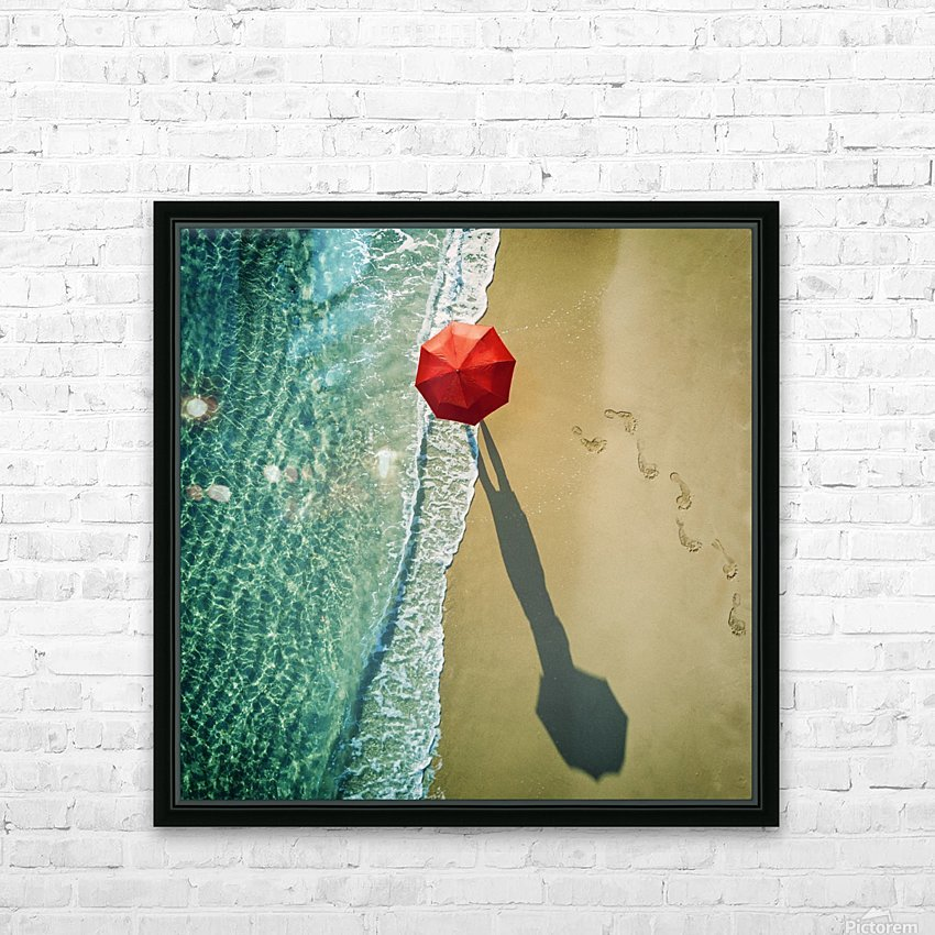 . deep water . HD Sublimation Metal print with Decorating Float Frame (BOX)