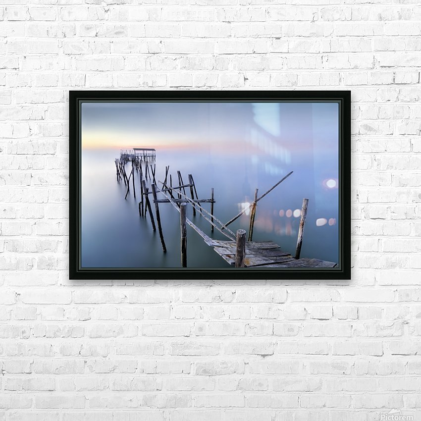 The Old Pier HD Sublimation Metal print with Decorating Float Frame (BOX)