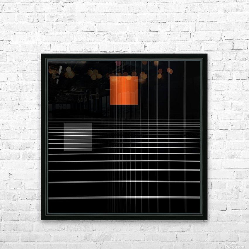 eidem spatio HD Sublimation Metal print with Decorating Float Frame (BOX)