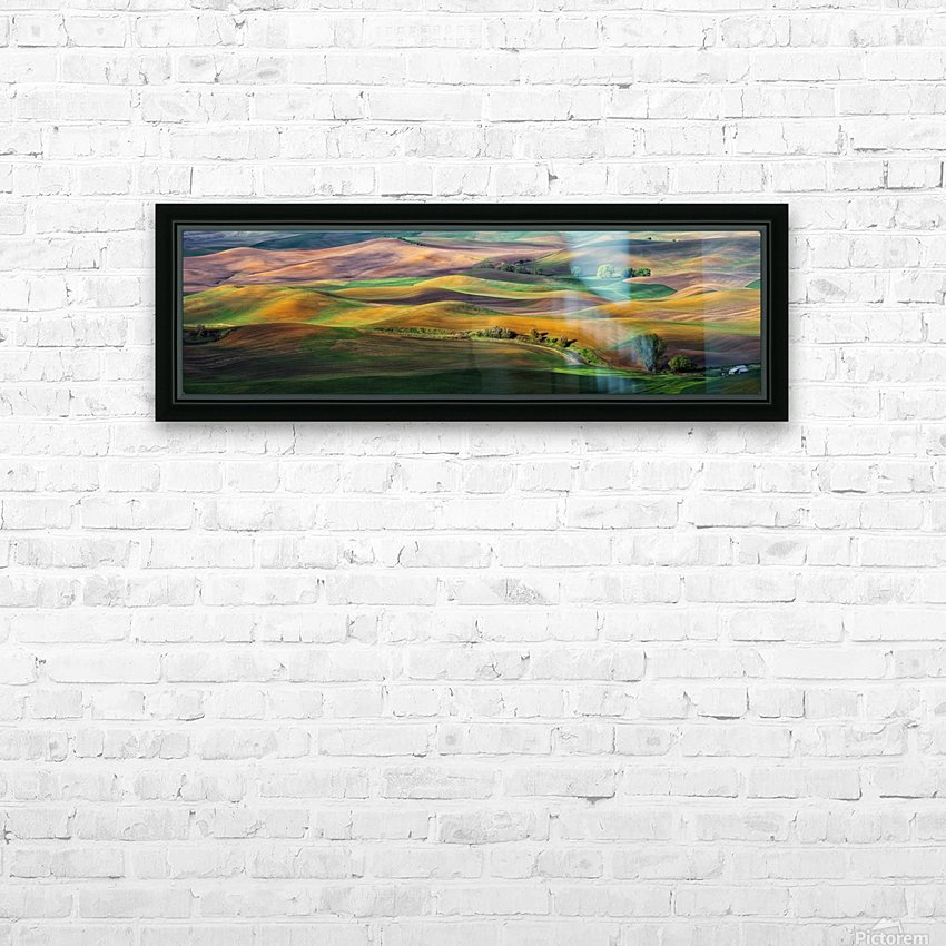 The Palouse HD Sublimation Metal print with Decorating Float Frame (BOX)