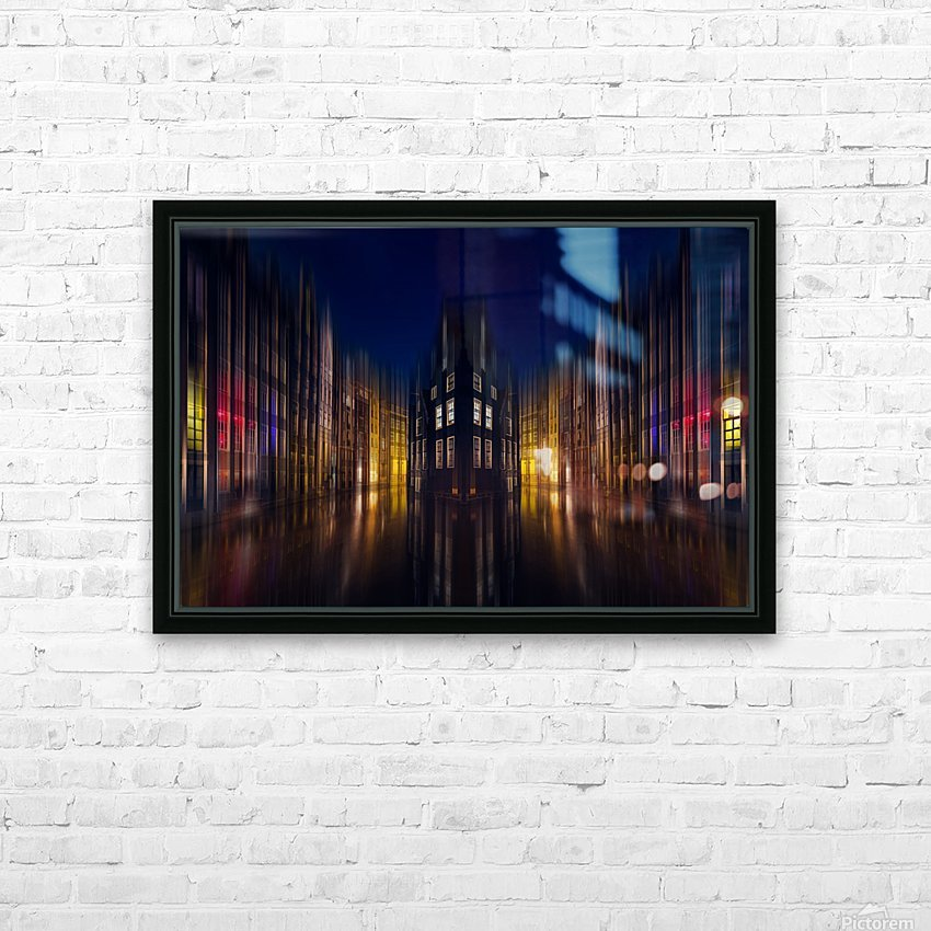 our house in the middle of the street HD Sublimation Metal print with Decorating Float Frame (BOX)