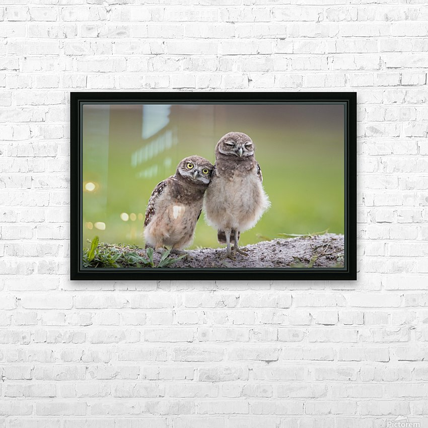 Friends HD Sublimation Metal print with Decorating Float Frame (BOX)
