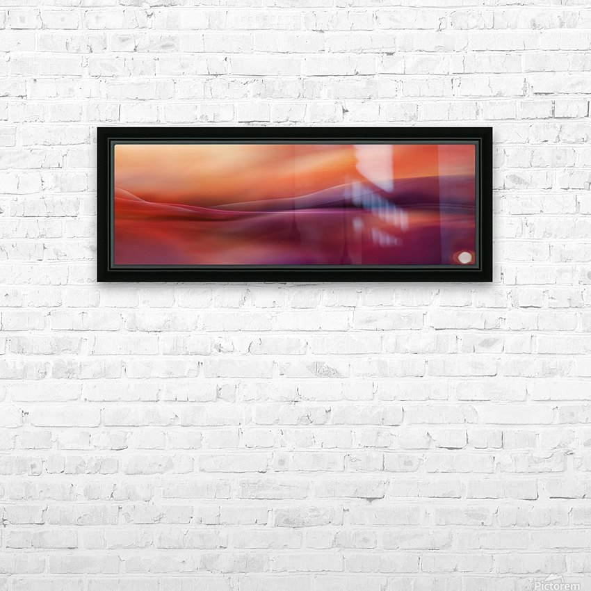 A new day HD Sublimation Metal print with Decorating Float Frame (BOX)