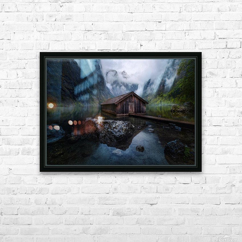 Ober-View HD Sublimation Metal print with Decorating Float Frame (BOX)