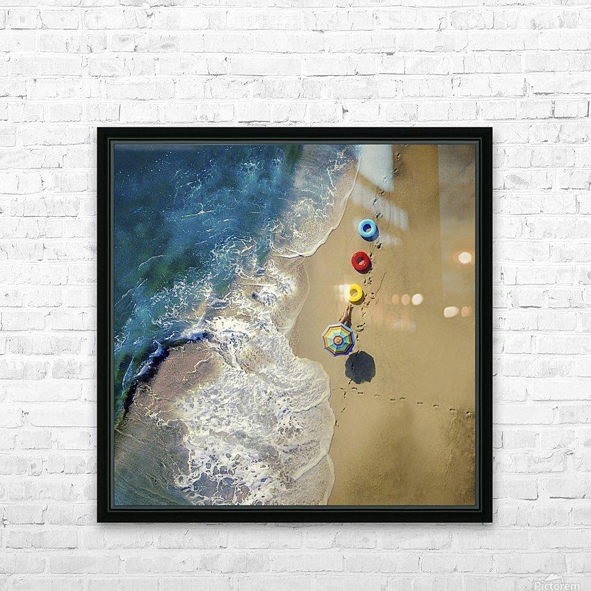 hi summer! HD Sublimation Metal print with Decorating Float Frame (BOX)