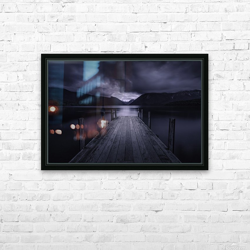 Storm Coming HD Sublimation Metal print with Decorating Float Frame (BOX)